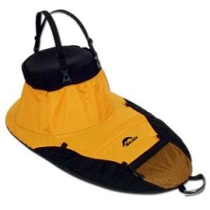 Nylon spray skirt, spray skirt, half-skirt, splash deck, sun deck, other gear, kayak gear, other kayak gear