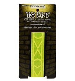 Reflective leg band