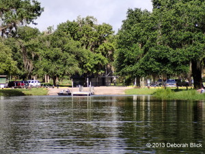 Prairie Creek, Newnans Lake, Earl P. Powers Park, Powers Park, Powers boat ramp