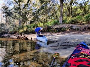 Davenport Landing, Ocklawaha River, kayaking