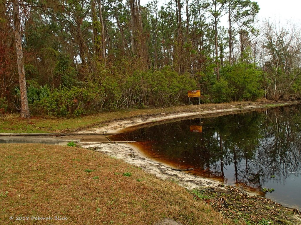 Orange Springs Park boat ramp