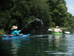 Rainbow River, kayaking, water fun