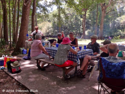 Cookout and picnic at Rum Island Park.