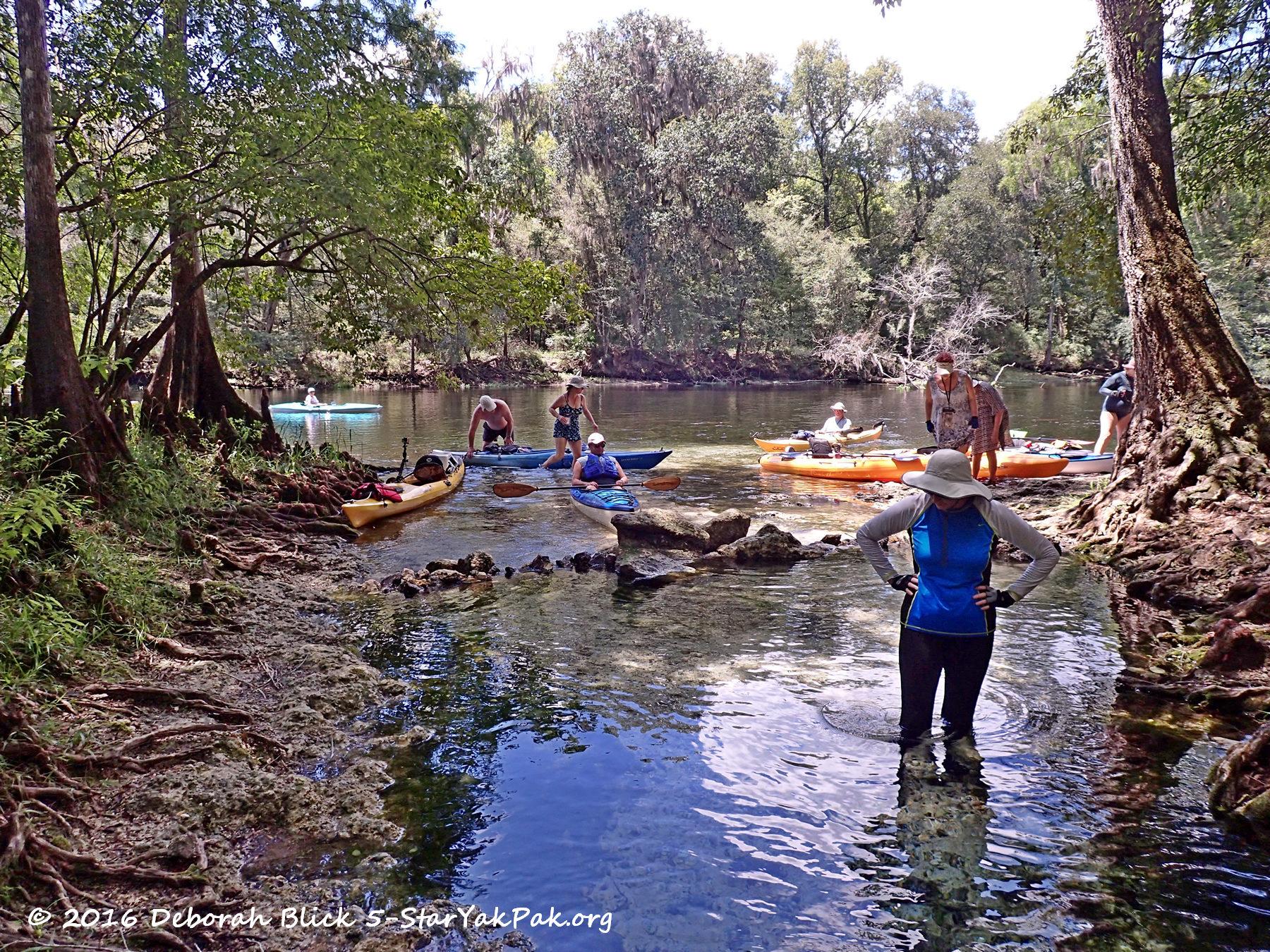 Santa Fe River - August 13, 2016 - 5-Star Yak Pak
