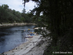 Suwannee River, kayaking