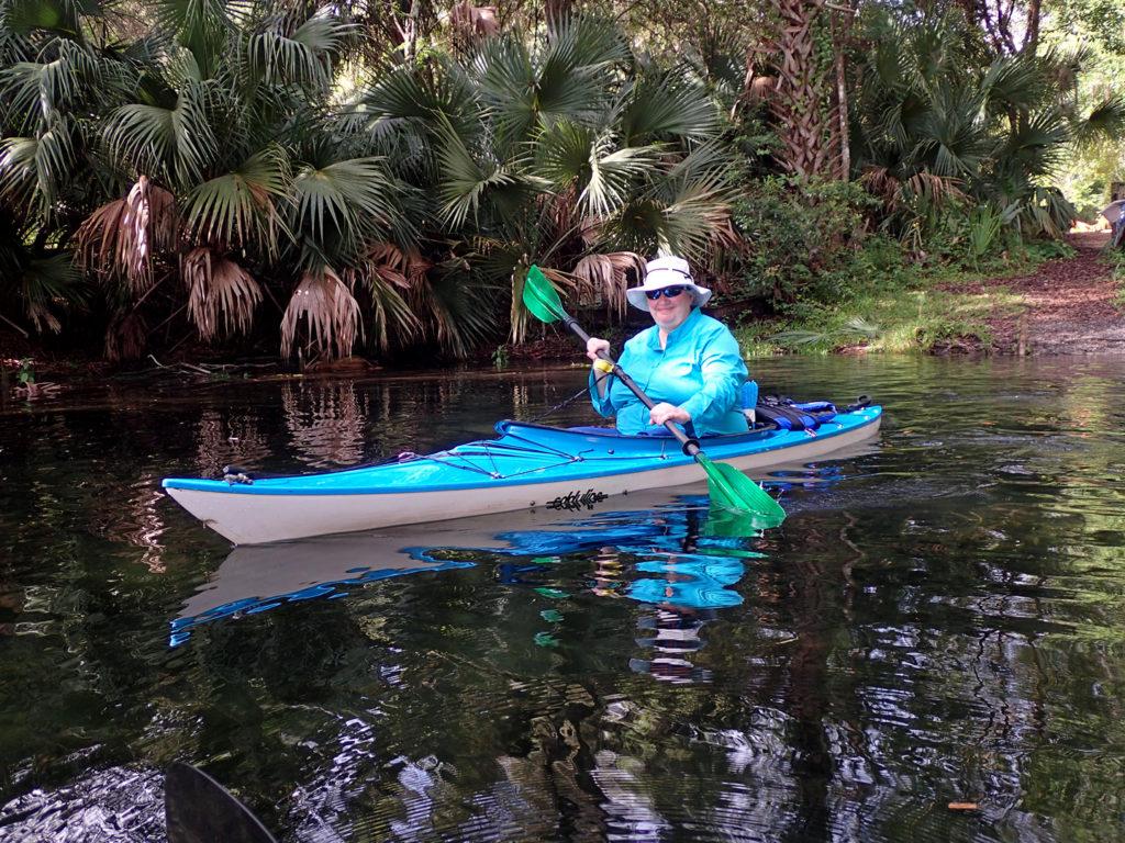 Erin's new Wind Swift paddle