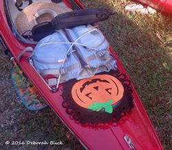Kayak pumpkin