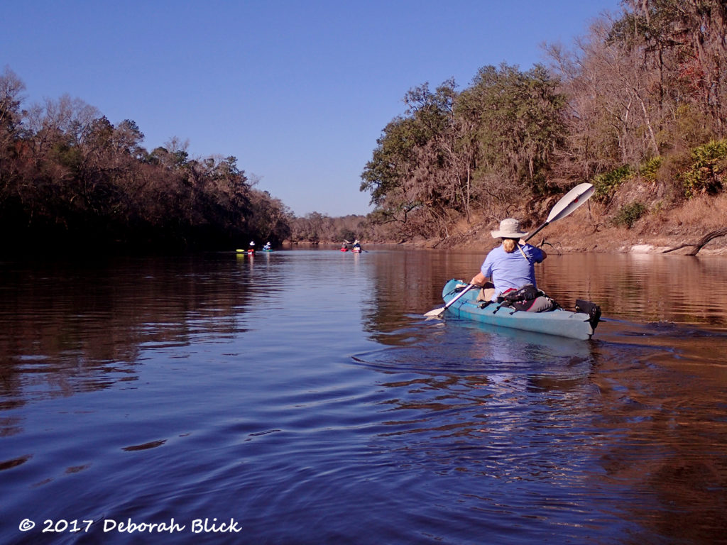 Winter morning on the Suwannee River near Boundary Bend