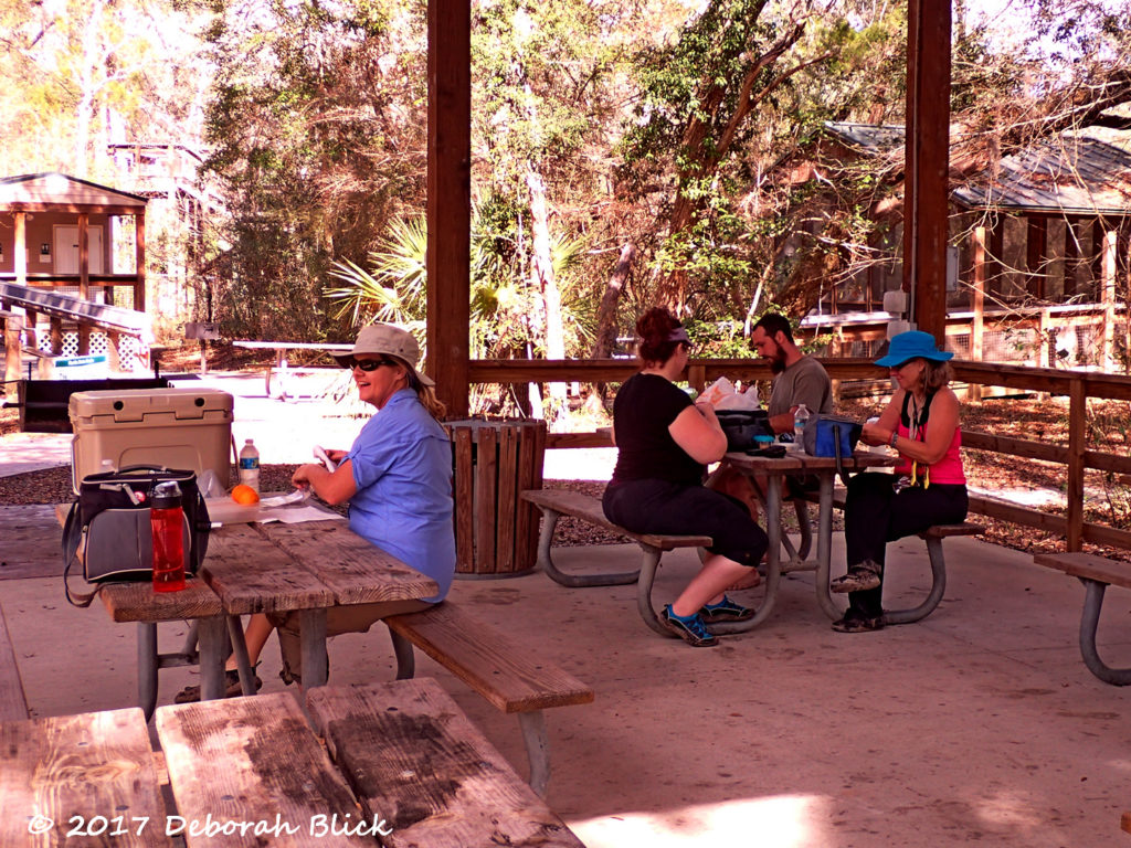 Lunch time at Dowling Park River Camp