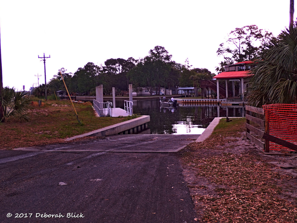 Demory Creek boat ramp, next to Anderson Landing