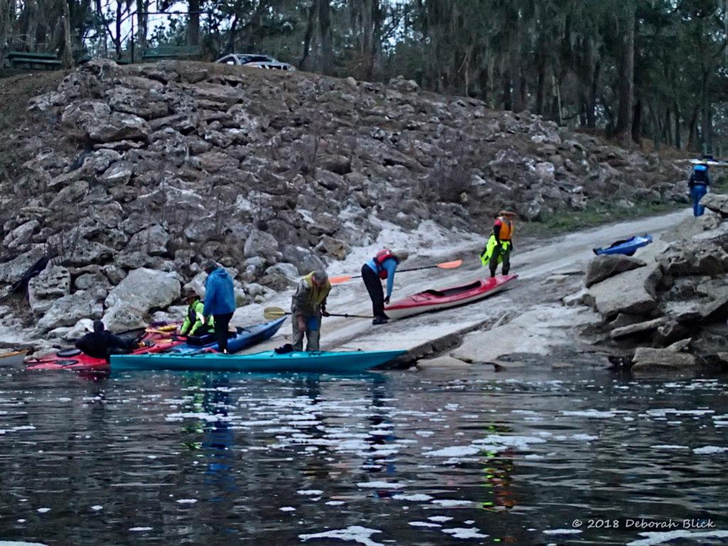Suwannee Wayside Park boat ramp