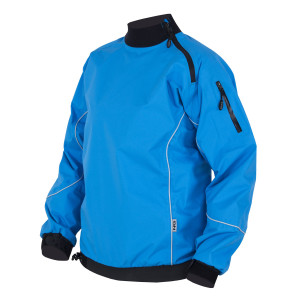 Splash jacket -water resistant with neoprene cuffs and neck